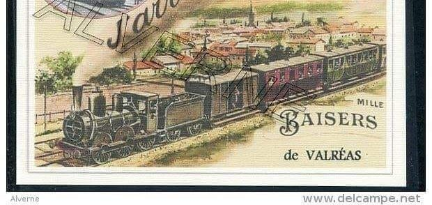 CARTE POSTALE LOCOMOTIVE
